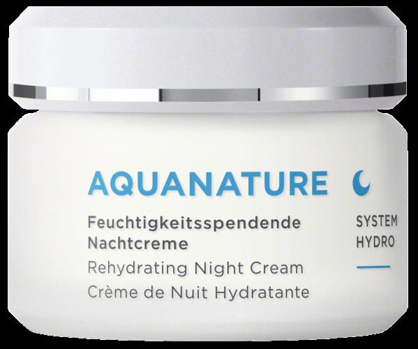 AquaNature Feuchtigkeitsspendende Nachtcreme