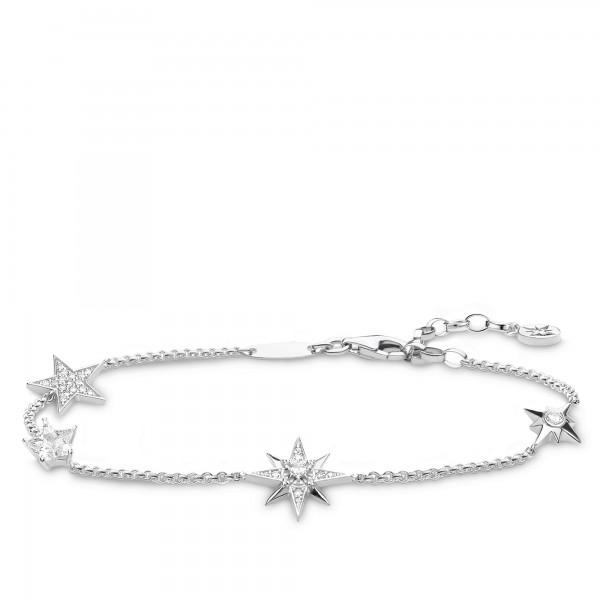 Armband Sterne Silber