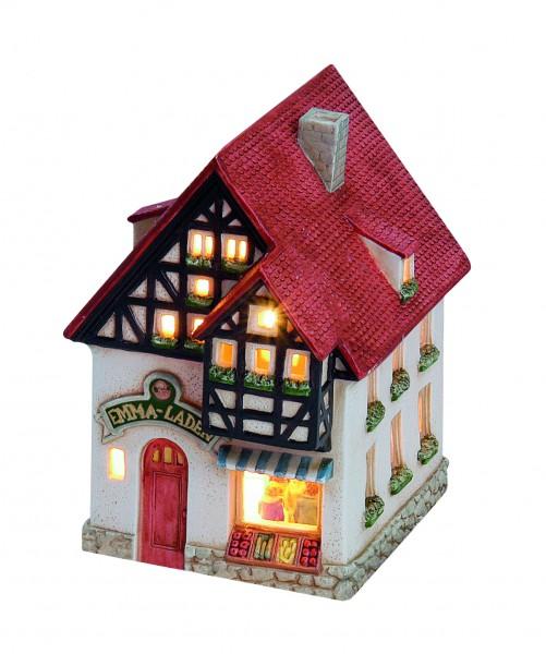 Windlicht-Haus Tante Emma Laden