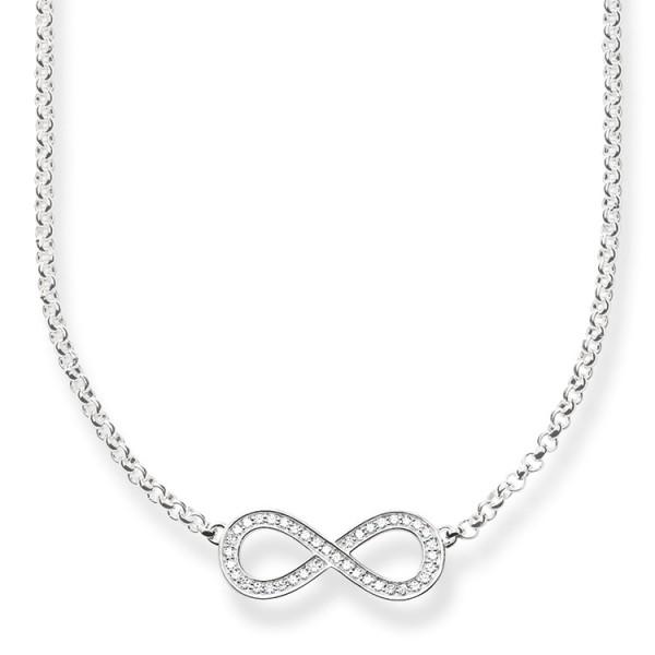 Halskette Unendlichkeit silber