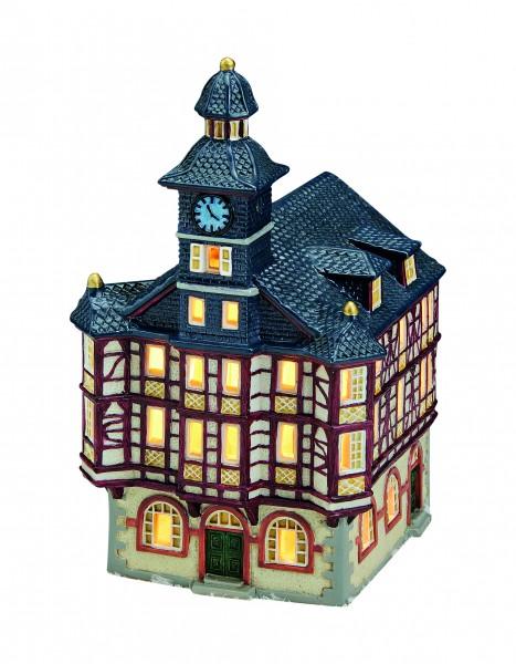 Windlicht-Haus Rathaus in Heppenheim