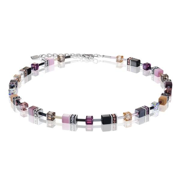 Halskette GeoCUBE® violett