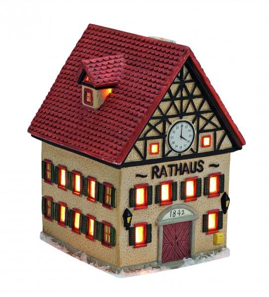 Windlicht-Haus Rathaus