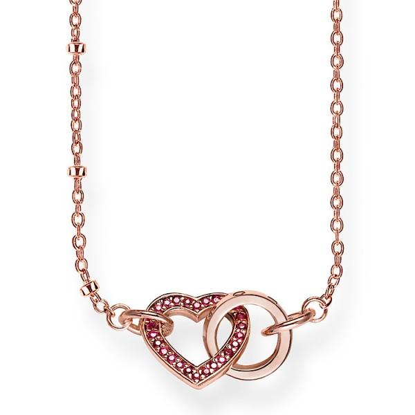 Halskette Herz roségold