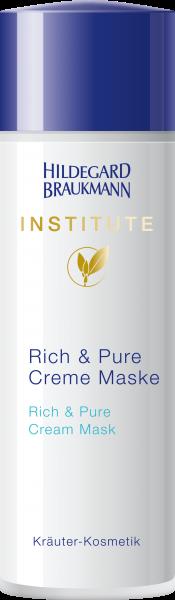 Rich & Pure Creme Maske
