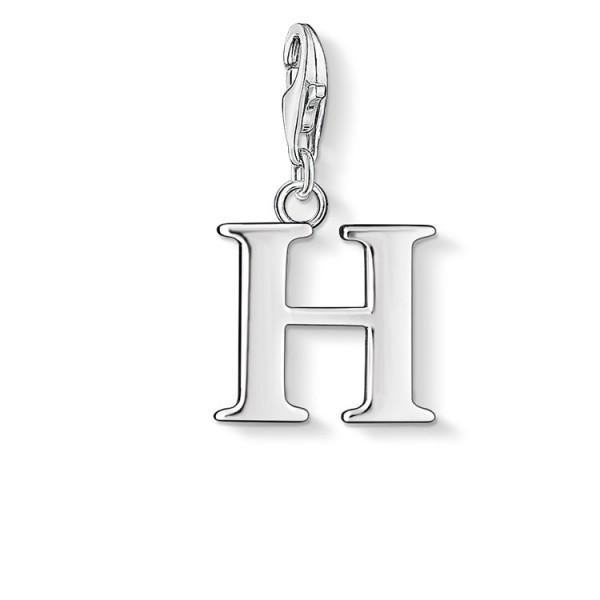 Charm-Anhänger Buchstabe H