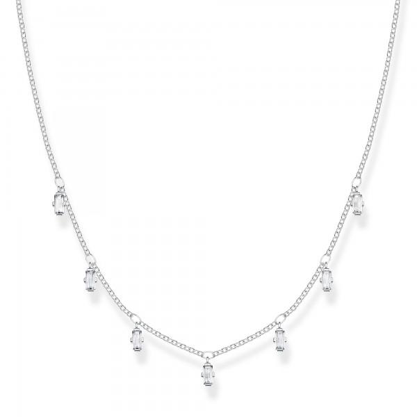 Halskette Baguette-Form