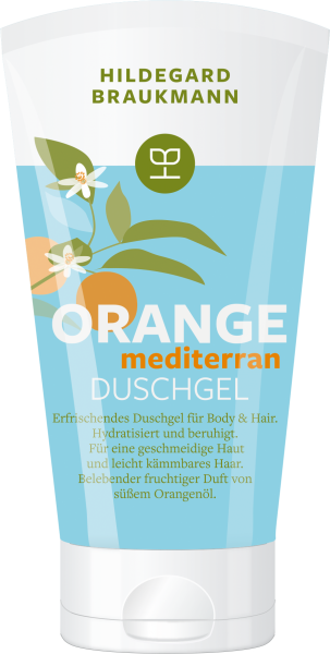 Orange Duschgel