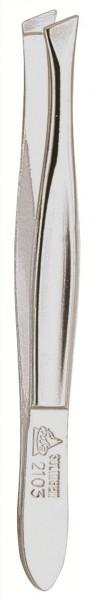 Pinzette 92103 schräg 8 cm