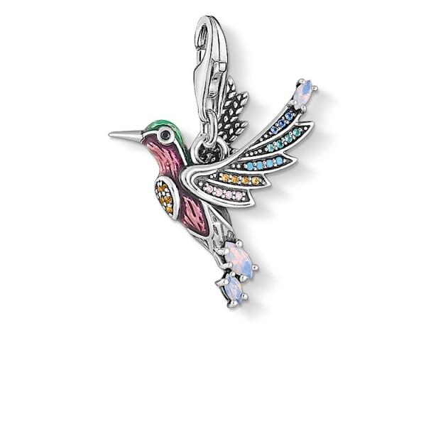 Charm-Anhänger Kolibri silber