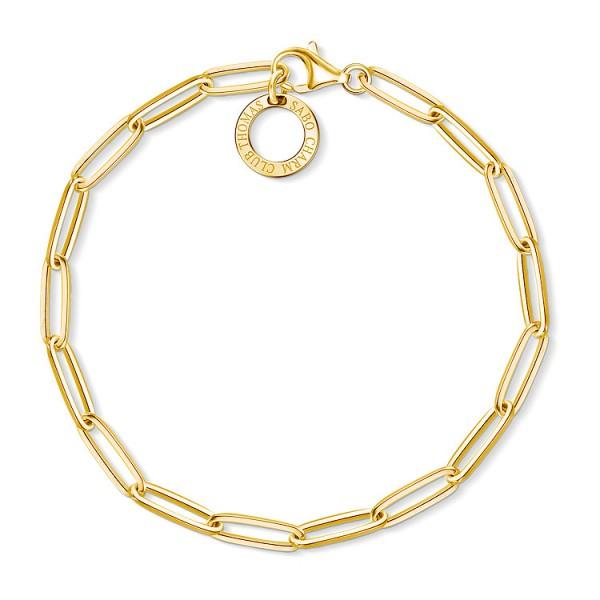 Charm-Armband gold