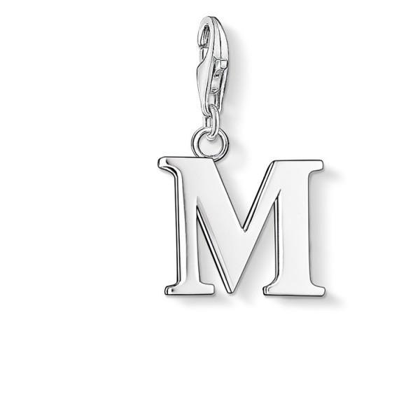Charm-Anhänger Buchstabe M