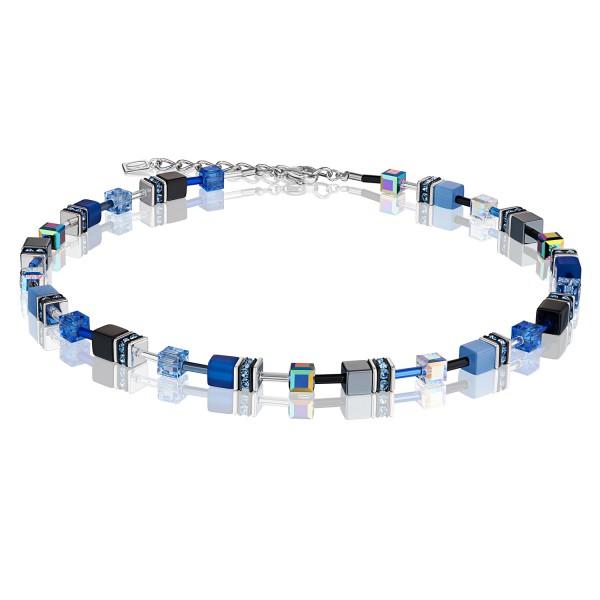 Halskette GeoCUBE® kobaltblau