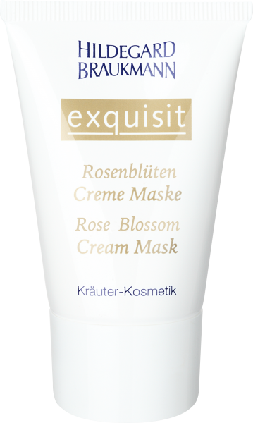 Rosenblüten Creme Maske