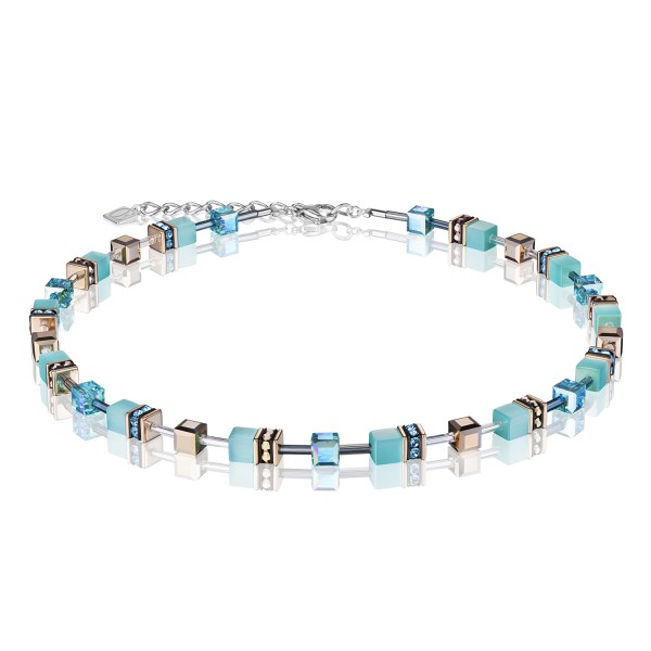 Halskette GeoCUBE® aqua