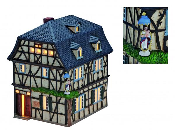 Windlicht-Haus Schutzengel Haus in Unkel