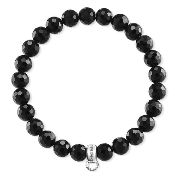 Charm-Armband schwarz