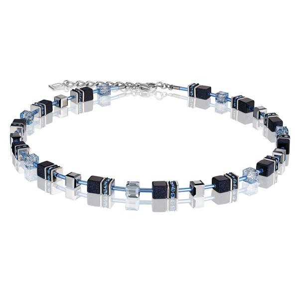 Halskette GeoCUBE® dunkelblau