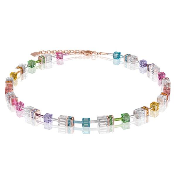 Halskette GeoCUBE® multicolor kristall