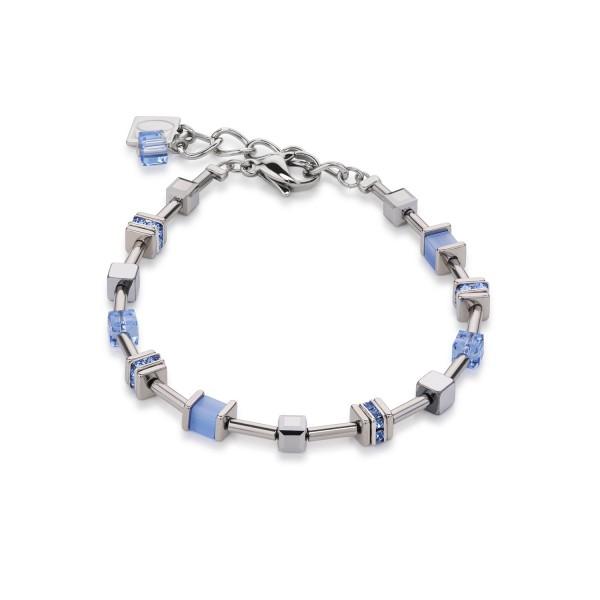 Armband Swarovski® Kristalle & Kristalle Pavé hellblau