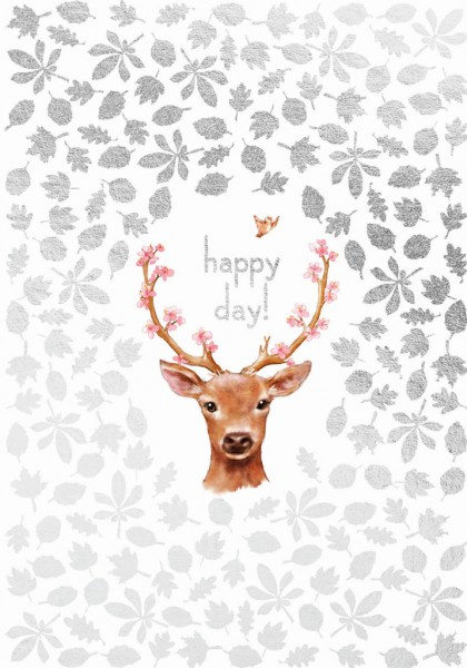 Doppelkarte: Happy Day