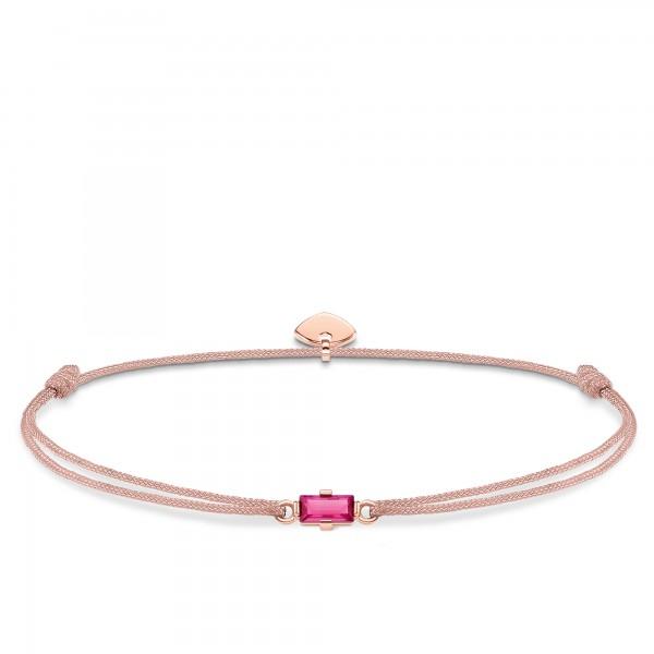 Armband Little Secret Pinker Stein Baguette-Schliff