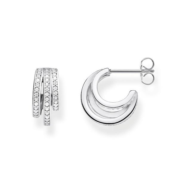 Ohrstecker Ringe Silber