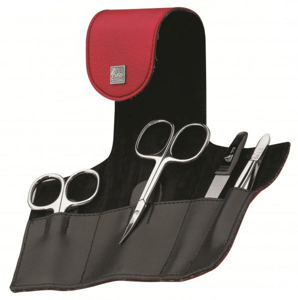 Manicure Etuis 9644 4-teilig rot