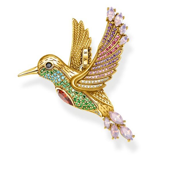 Anhänger Kolibri gold